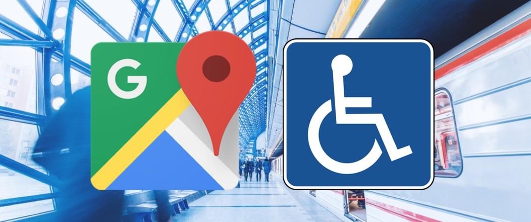 Google Maps añade rutas adaptadas para personas con movilidad reducida