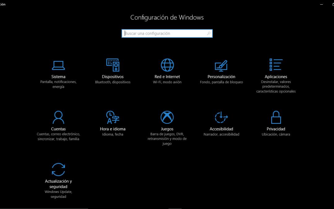 """Activar el """"Modo Oscuro"""" en Windows 10"""